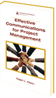 Effective Communications for Project Management