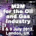 M2M for the Oil and Gas Industry in London, UK on July 8 and 9, 2013. M2M technologies, Wireless Networking, SCADA Telemetry, and disruptive technologies are emerging as key differentiators in expediting oil and gas exploration and accelerating operational efficiencies. Wireless technologies and devices have played a key role for many operators in Europe and North American in their quest for energy independence. SMi�s M2M in Oil and Gas will address the role of Wireless Networks and Machine to Machine technologies, their current utilization, the future of devices and machine to machine connectivity and automation, and the role technical strategies play as operational business drivers for Oil and Gas applications.