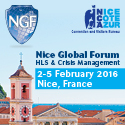 Nice Global Forum on Homeland Security and Crisis Management on October 25-28, 2016 in Nice, France
